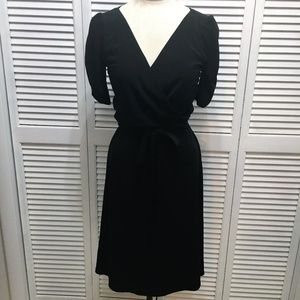 Fredericks of Hollywood black jersey knit dress M